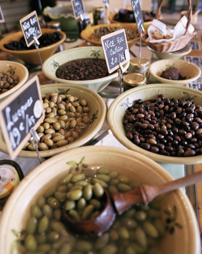 Massor av olivsorter